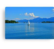 Lake Chiemsee Germany Canvas Print