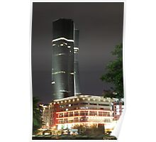Bakrie Tower (by night) Poster