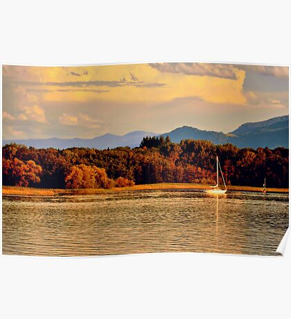 Lake Chiemsee - Germany Poster
