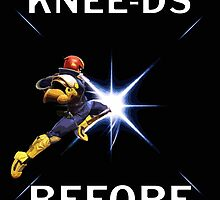 Captain Falcon - Your Knee-ds by fuzzyscene