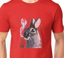 The Smoking Bunny Unisex T-Shirt