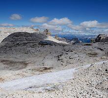 Dolomites - Rifugio Boè by Alessandro Fraracci