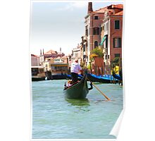 Sightseeing By Gondola  Poster