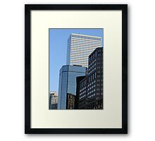 A Mile High Plus Framed Print