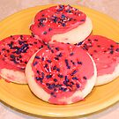 Raspberry Sugar Cookies by lindsaywinckel