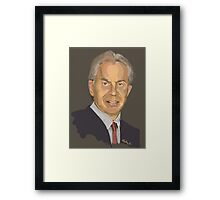 Tony Blair Framed Print