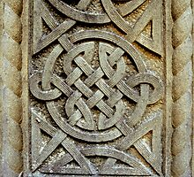 Celtic Knotwork in Stone by Orla Cahill Photography