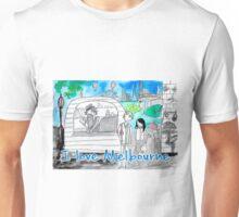 I love Melbourne Unisex T-Shirt