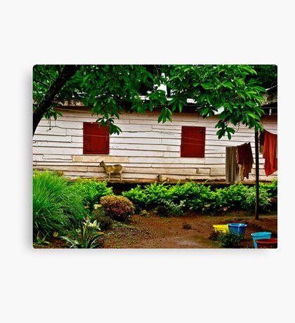 Cameroon House Canvas Print