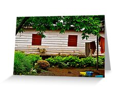 Cameroon House Greeting Card
