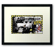 Chris of the M6 Framed Print