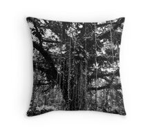 Cameroon Tree Throw Pillow