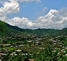 Limbe View from Above by VioletHalo