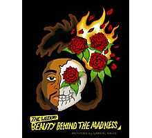 """The Weeknd – """"Beauty Behind The Madness"""" Concept Art Photographic Print"""