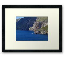 Sliabh Liag Framed Print