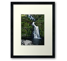 The Assarnacally Waterfall Framed Print