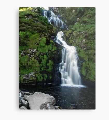 The Assarnacally Waterfall Metal Print
