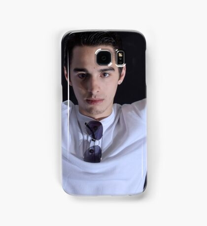 Right down the lens Samsung Galaxy Case/Skin