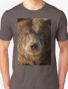 brown bear abstract T-Shirt