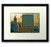Baltimore Framed Print