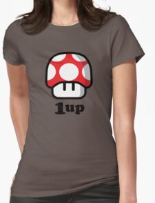 1 Up Womens Fitted T-Shirt