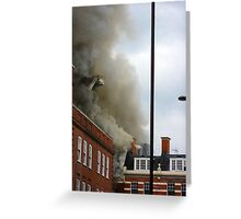 A Fire in Brixton Greeting Card