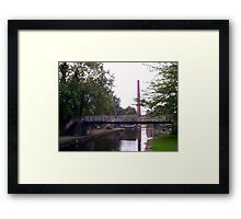 One bridge to another!  Framed Print