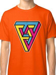 CMYK Triangle Classic T-Shirt