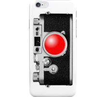 Camera White iPhone Case/Skin
