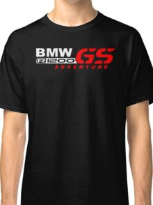 BMW R1200 GS Adventure Motorcycle Premium Quality Classic T-Shirt