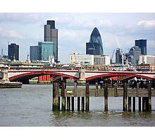 London's Skyline Along The Thames Photographic Print