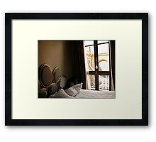 Bedroom-Luman, Paris, France Framed Print
