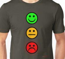 Smiley Traffic Lights - Green For Go Unisex T-Shirt