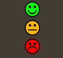 Smiley Traffic Lights - Green For Go Unisex T-Shirt