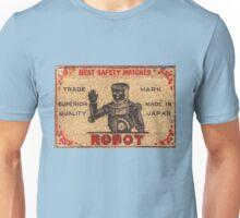 Vintage Robot Match Box Unisex T-Shirt