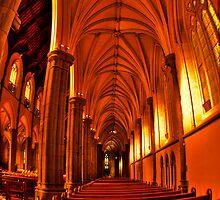 St Patrick's Cathedral - side by Jan Clarke