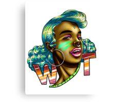 wAt Canvas Print