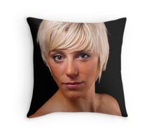 Portrait of Tracey Throw Pillow