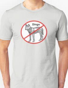 No Dingos Unisex T-Shirt