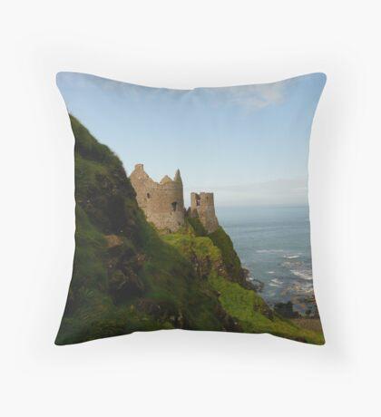 Dunlunce Castle, Ireland Throw Pillow