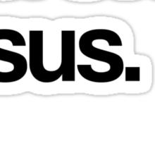 Cool Story Jesus Sticker