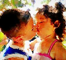 First Kiss by Bunny Clarke