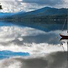 Huon Reflections II by jayneeldred