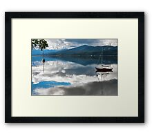 Huon Reflections II Framed Print