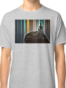 Swimmer Rock (HDR) Classic T-Shirt