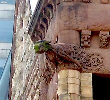 Old City Hall Gargoyle by MarianBendeth