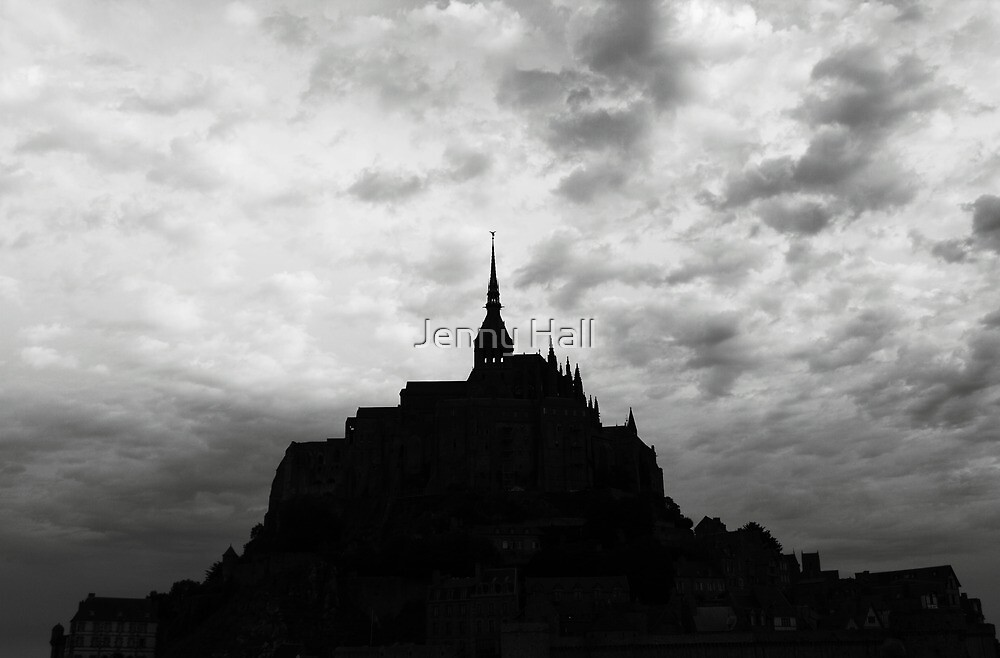 Le Mont St-Michel by Jenny Hall