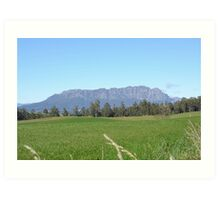 Mount Roland in Tasmania Art Print