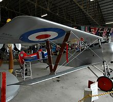 Nieuport Scout @ Festival Of Flight, Australia 2011 by muz2142