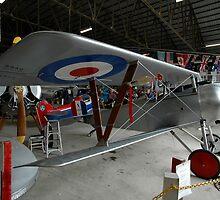Nieuport Scout @ Festival Of Flight, Australia 2011 by muz2142
